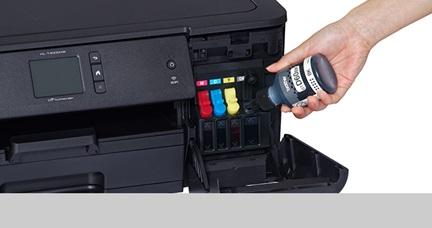 HL-T4000DW - A3 Inkjet Printer, Refill Ink Tank Wireless