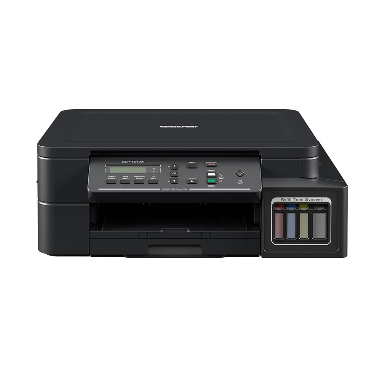 DCP-T510W Refill Tank System – Wifi, Mobile-Print 3-in-One