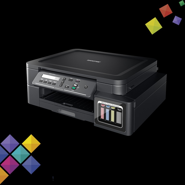 DCP-T310 Refill Tank System – 3-in-One, Ultra High Yield Ink